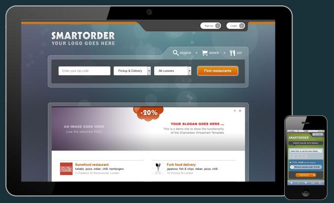 joomla based online ordering for food deliveries smartorder